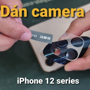 "Dán camera iPhone 12 Pro 6.1"" - hiệu Benks"